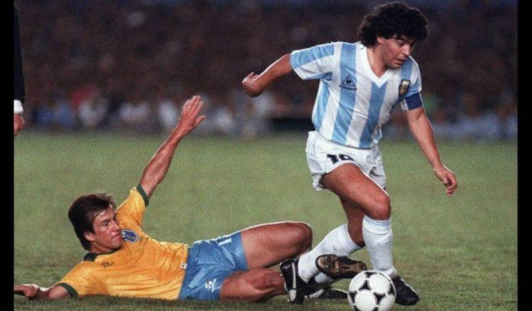 El 11 histórico de la selección de argentina