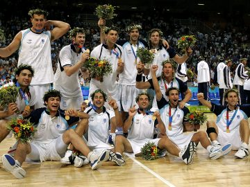 Basquet argentino generacional de oro