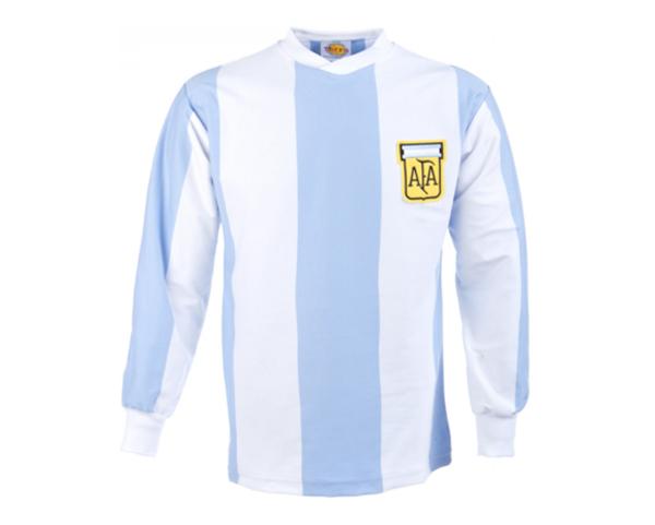 camisetas historicas de la selección de argentina
