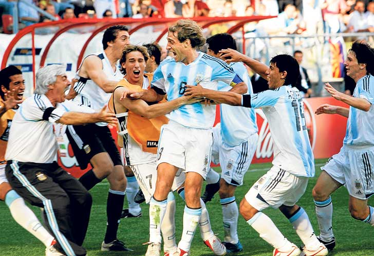 La generación de Messi